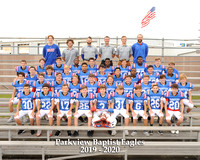 7th & 8th Grade Team 8x10 with litho